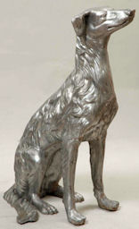 life size dog statue