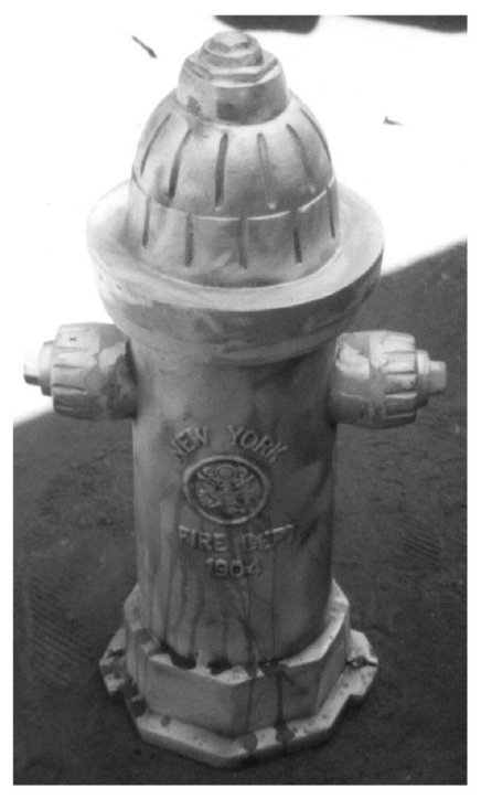 cast fire hydrant statue