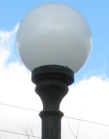Cast Aluminum Birchwood Street Lamp With Ballast Box