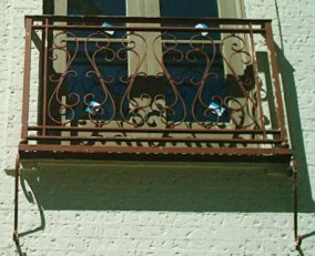 wrought iron julitte balconies
